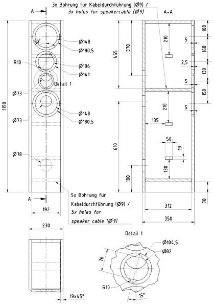 visaton symphonie bausatz ohne geh use kaufen bei. Black Bedroom Furniture Sets. Home Design Ideas