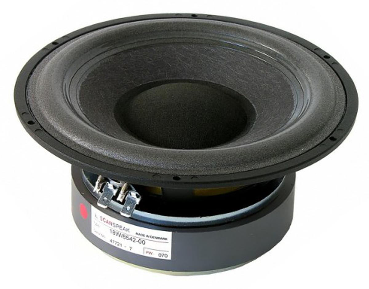 Scan Speak 18 W 854200 Papier-Karbon-Gemisch/Schaumstoffsicke (Paar)