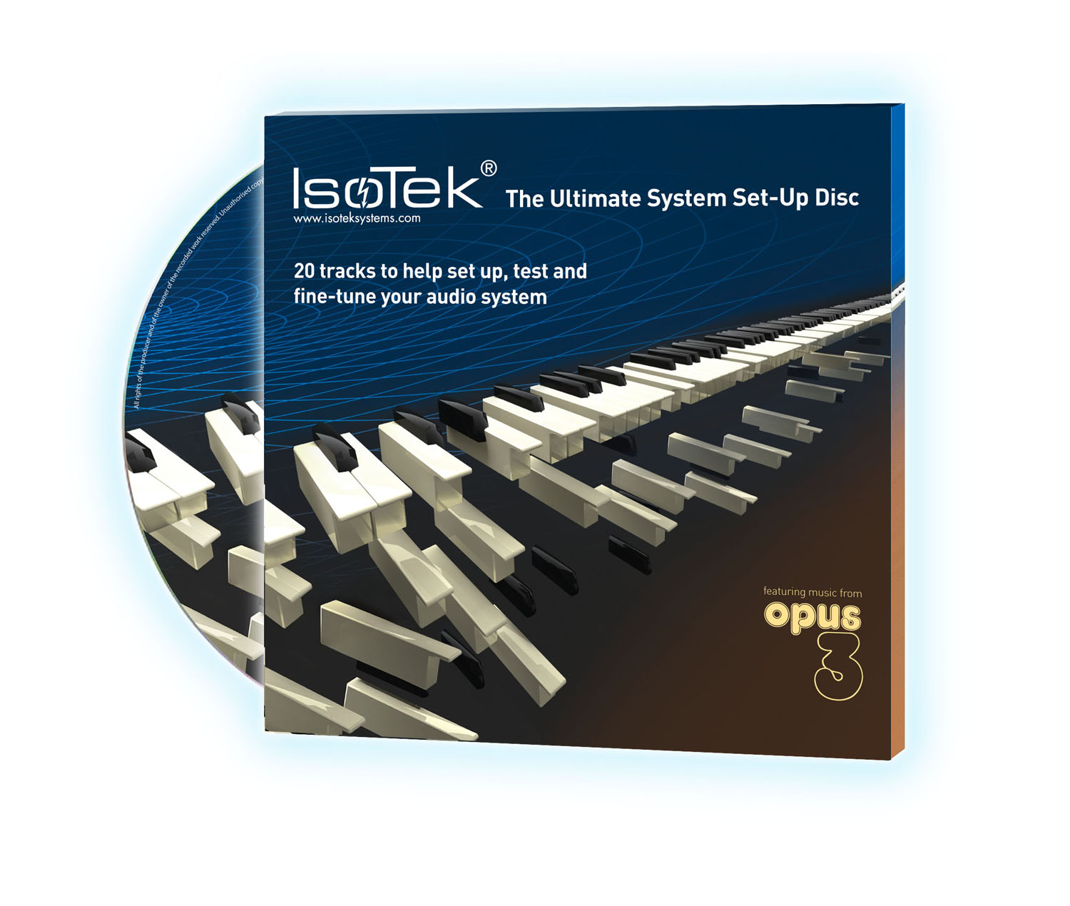 Isotek THE Ultimate System Setup-CD incl. 20 Test Tracs