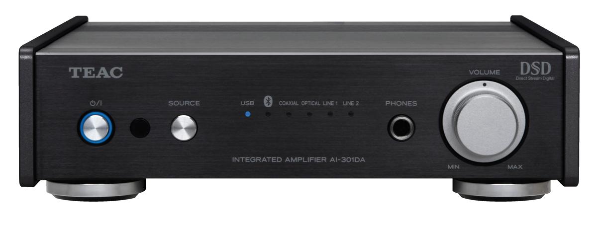 Teac AI-301 DA-X Vollverstärker mit DAC, USB, DSD, Bluetooth schwarz