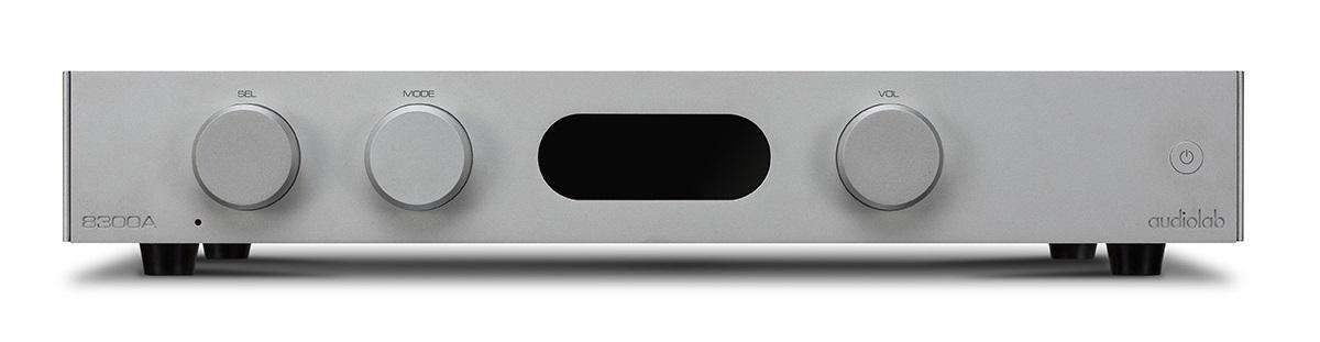 Audiolab 8300A Vollverstärker silber