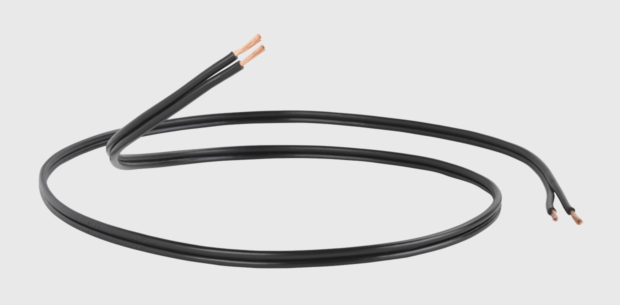 QED Profile 79 Strand Speaker Cable 2x2,5 mm² Black
