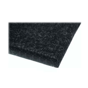 Needlet Felt Self-Adhesive 1000x1000x3 MM - Black