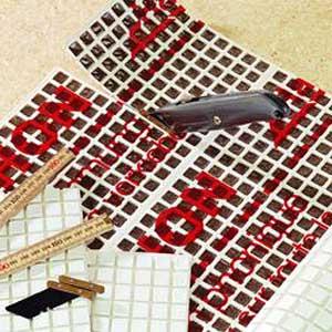 Hawaphon Stahlkugelmatte 730x570x5 MM