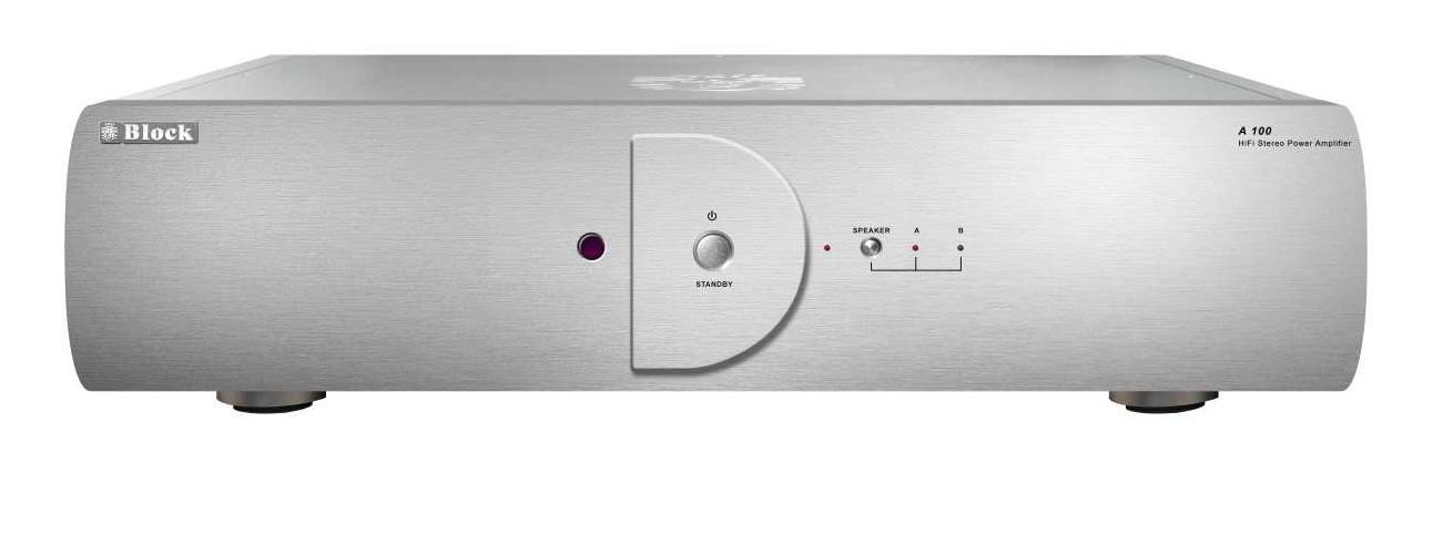 Block A-100 Stereo Leistungs-Endstufe