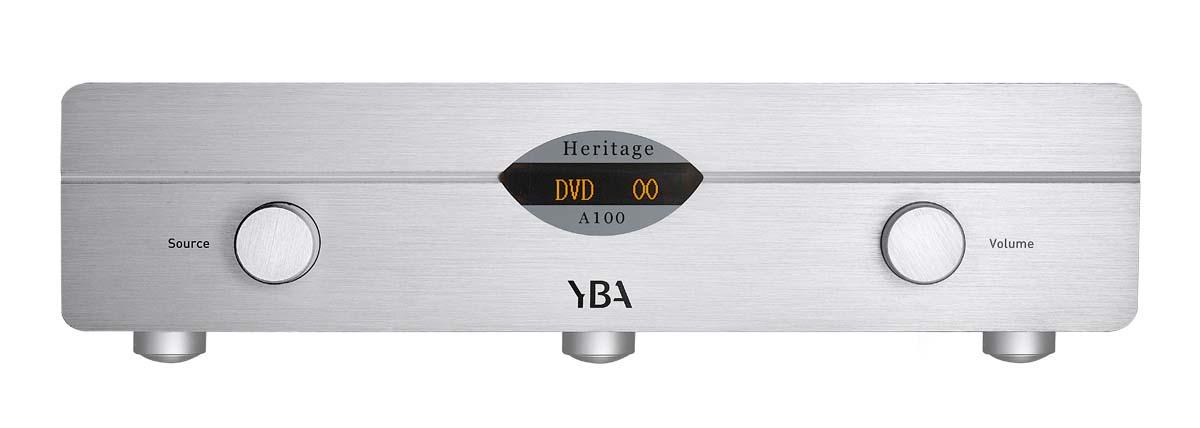 YBA Heritage A 100 Vollverstärker silber