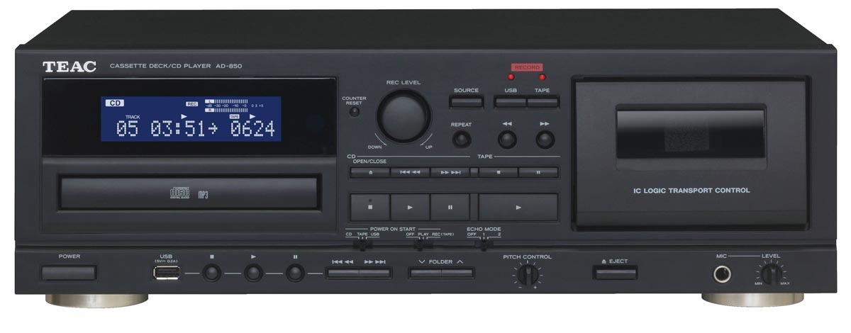 Teac AD-850 Cassette deck / CD-Player