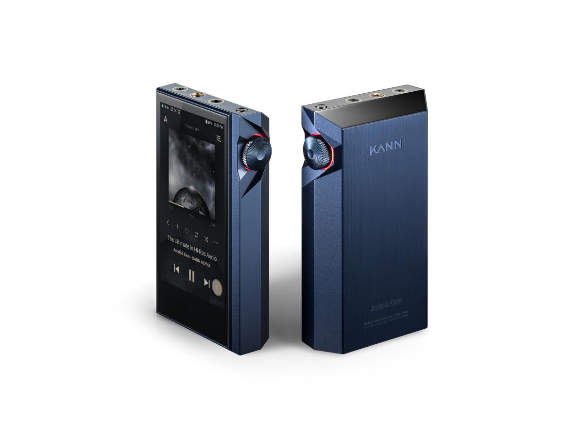 Astell & Kern KANN ALPHA Mobiler Hi-Res. Player, blau