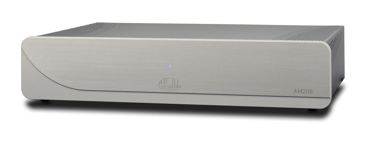 Atoll AM 200 Signature Stereo Endverstärker silber