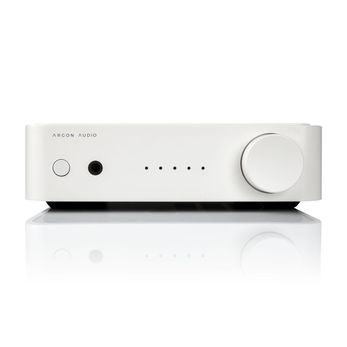 Argon SA1 Stereo-Vollverstärker mit Phono und Bluetooth, weiss