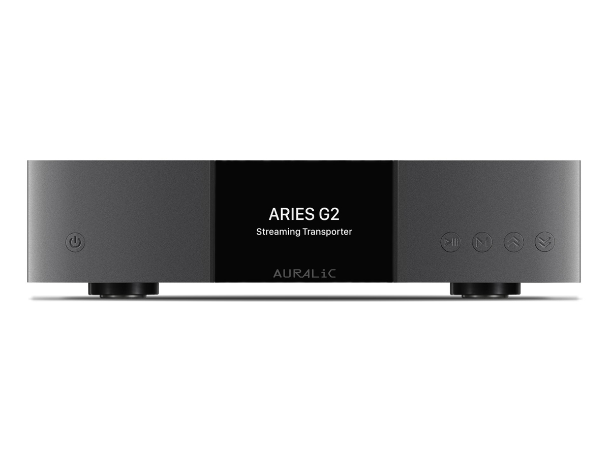 Auralic Aries G2 Streaming Transport, schwarz