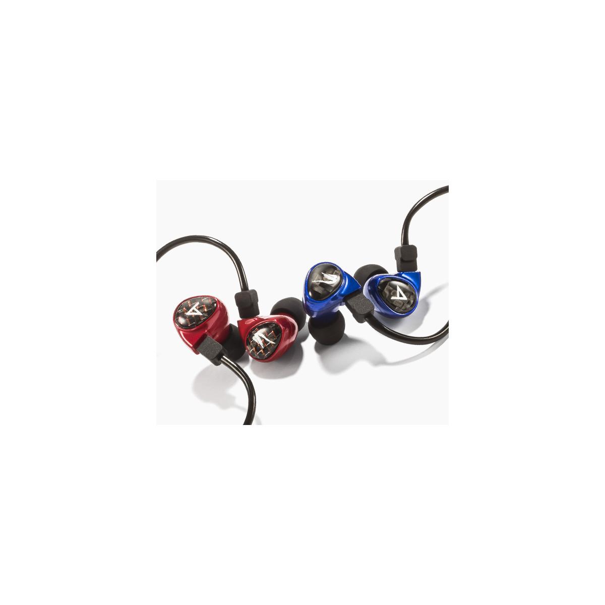 Astell & Kern Billie Jean In-Ear Kophfhörer rot