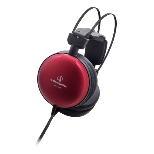 Audio Technica ATH A1000Z Closed-Back Headphone, red