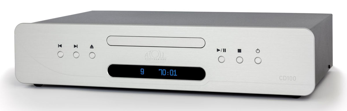 Atoll CD 100 Signature CD-Player silber