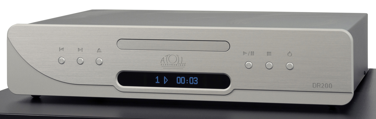 Atoll DR 200 Signature CD-Transport silber