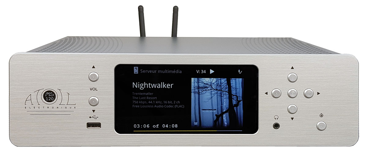 Atoll MS 120 Netzwerk-Streamer MIDI