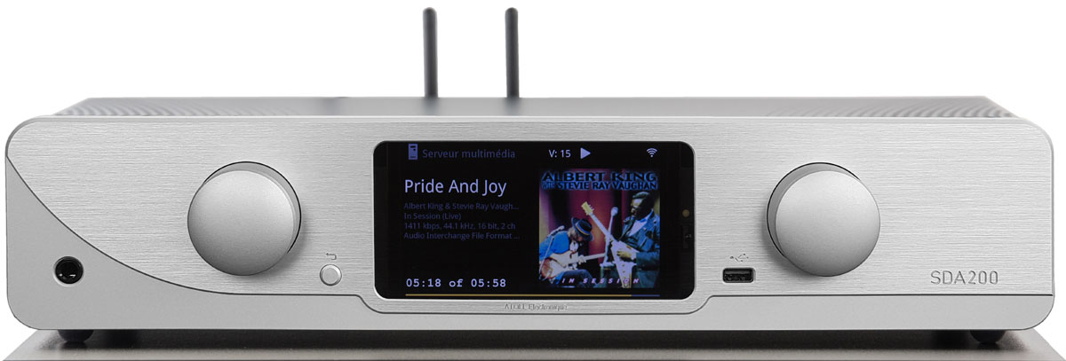 Atoll SDA 200 Signature Netzwerk-Streamer, Vollverstärker, Bluetooth