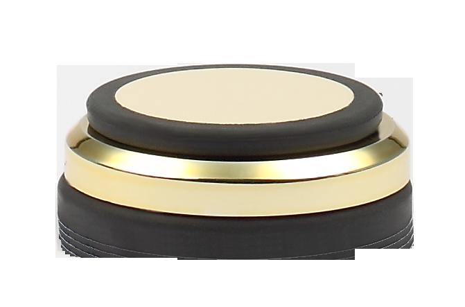 Audio Selection Gummidämpfer mit Ring 45 MM gold
