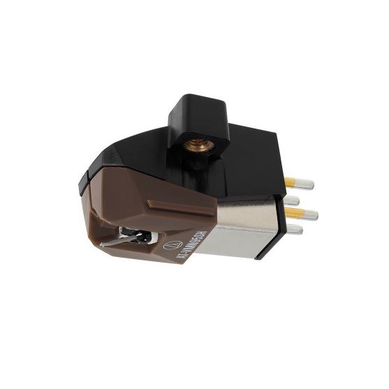 Audio Technica AT VM95SH MM Tonabnehmer mit Shibata Abtastnadel