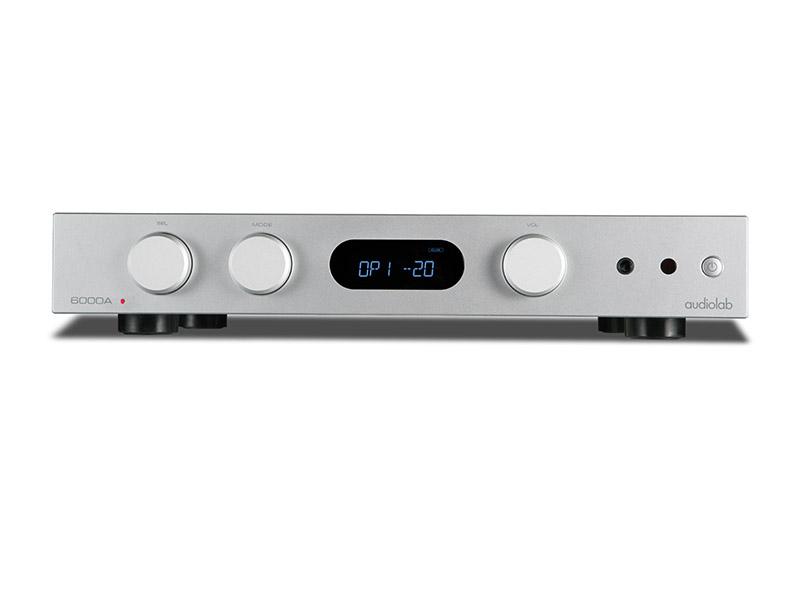 Audiolab 6000A Vollverstärker mit DAC und Phono MM Eingang silber