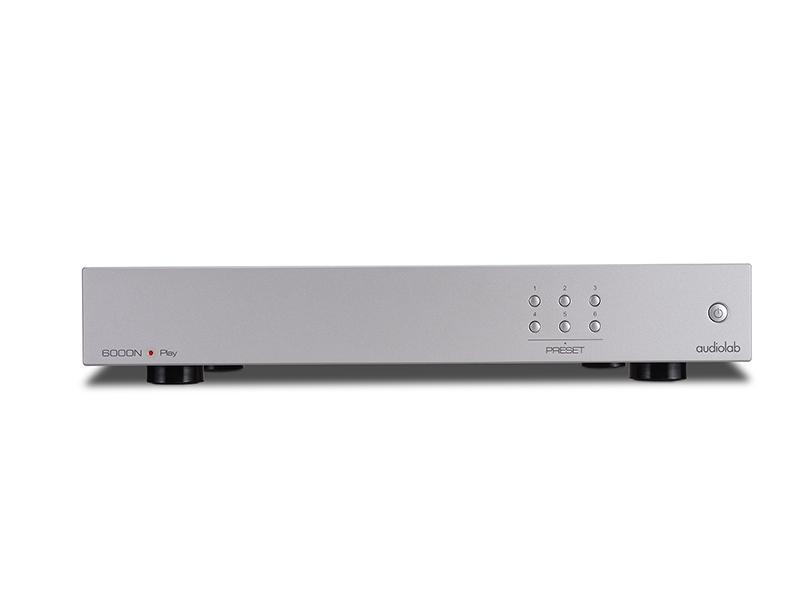 Audiolab 6000N Netzwerk-Player silber
