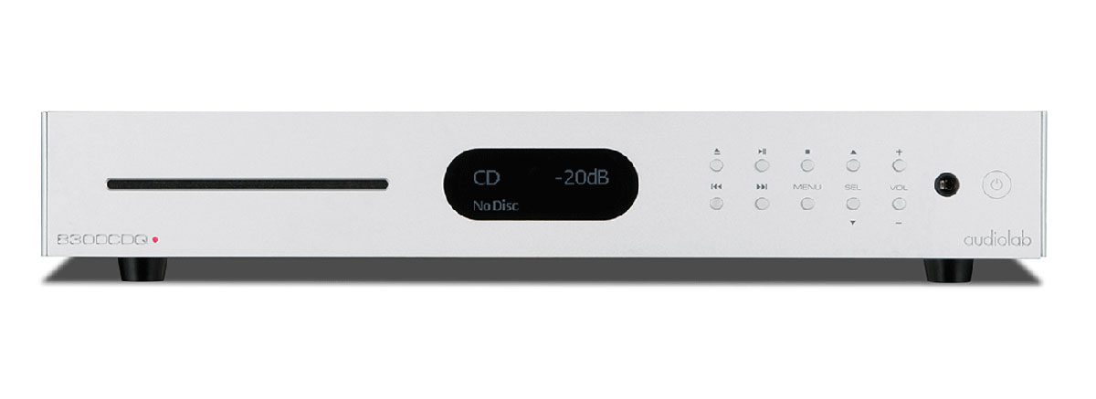 Audiolab 8300CDQ CD-Player/Vorstufe silber