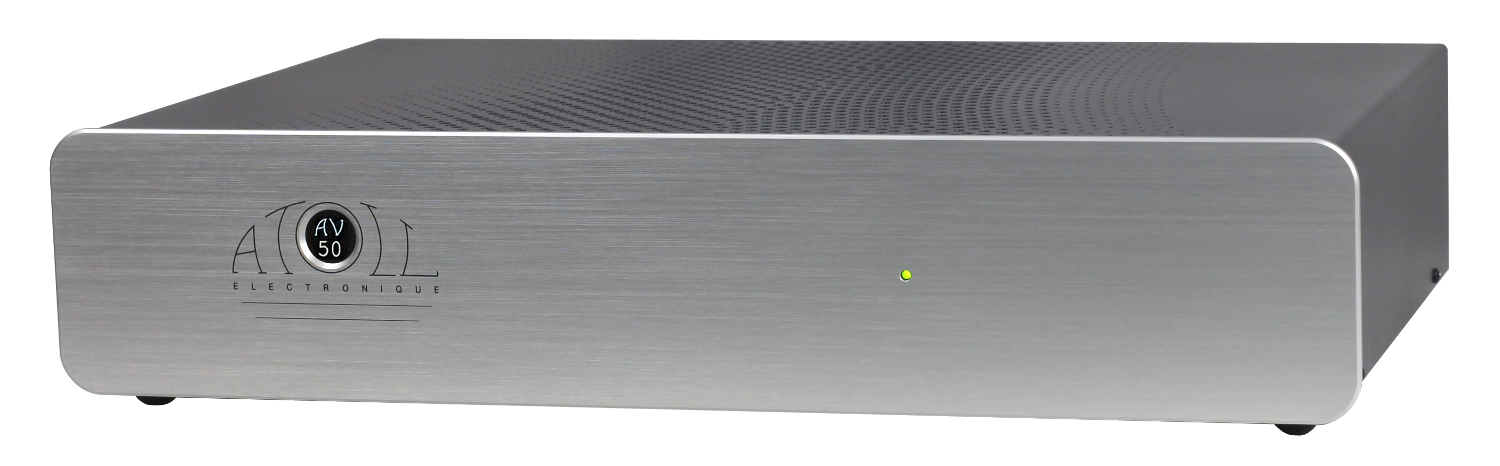 Atoll AV 50 SE 3-Channel-Power-Amplifier silver