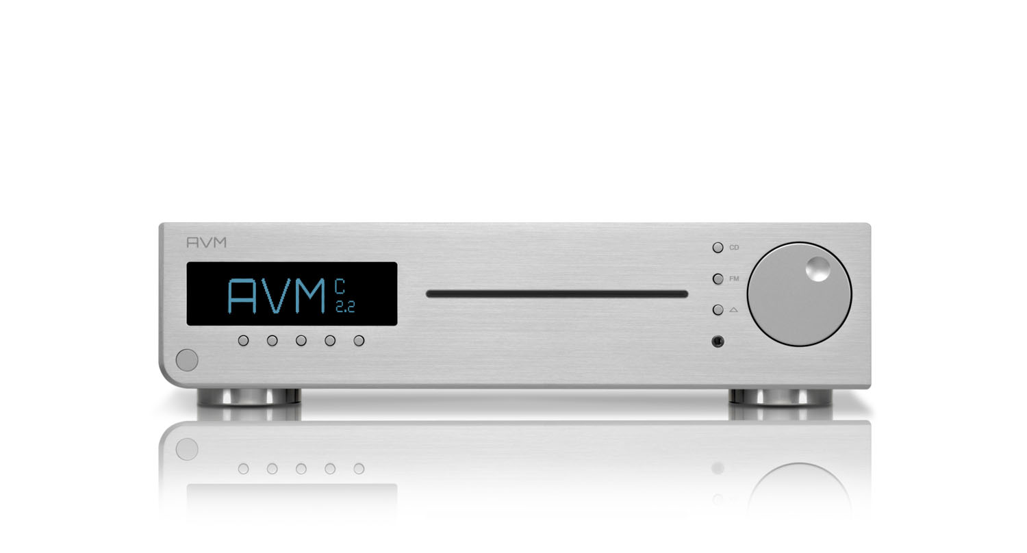 AVM Inspiration C 2.2 CD-Receiver Silber