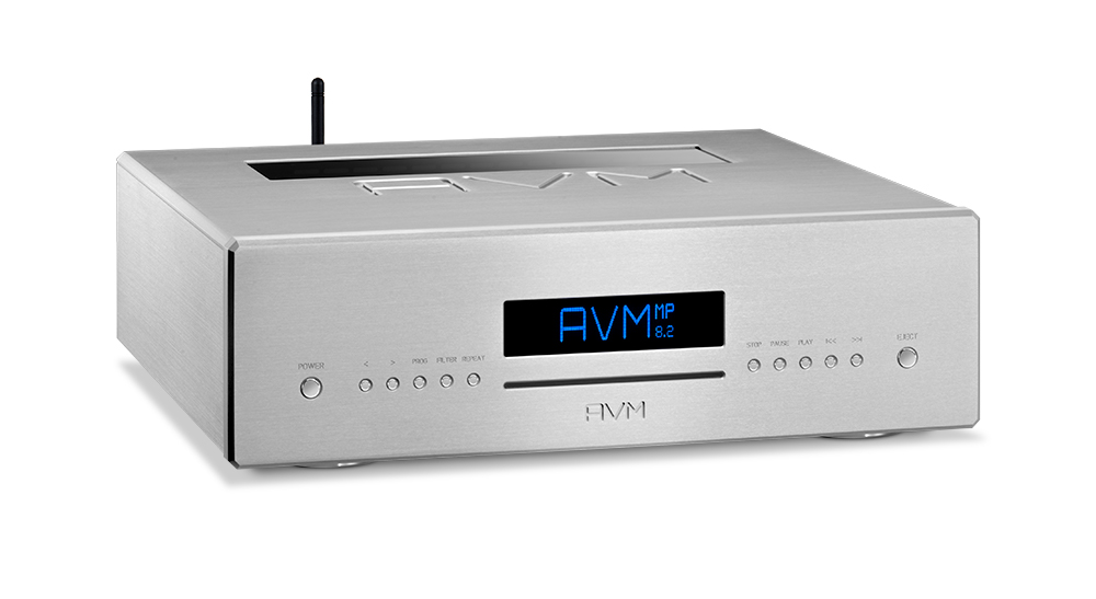 AVM Ovation MP 8.2 Media Player with Pure CD Drive & Tube Line Stage
