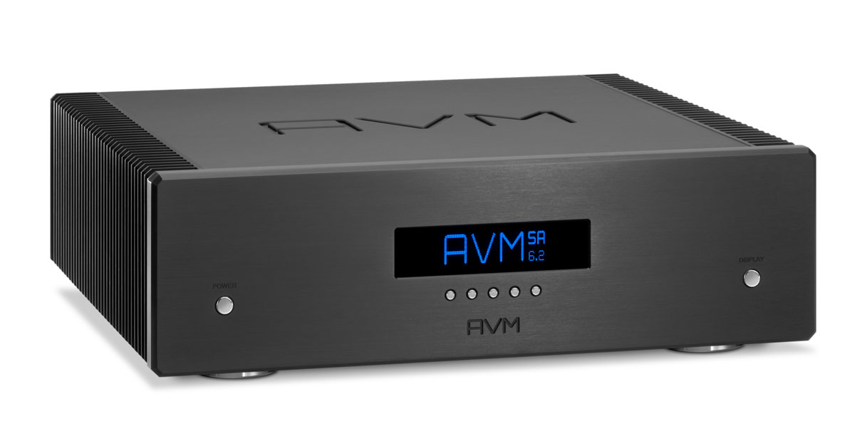 AVM Ovation SA 6.2 Stereo-Endstufe Schwarz