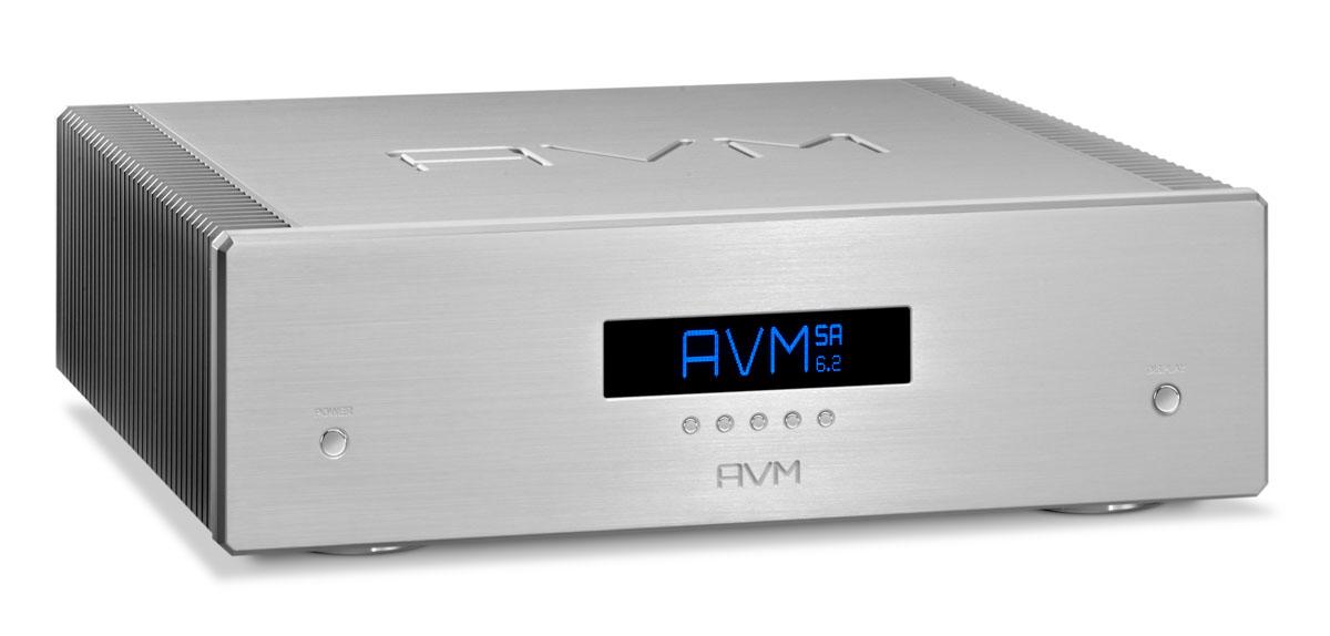 AVM Ovation SA 6.2 Stereo-Endstufe silber
