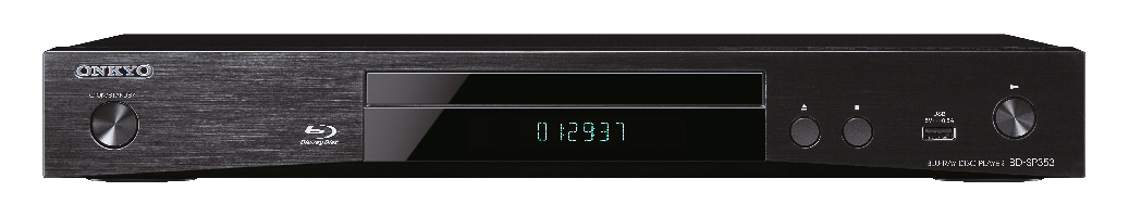 Onkyo BD-SP353 Blu-ray Disc-Player inkl. Wiedergabe hochauflösender Audiodaten