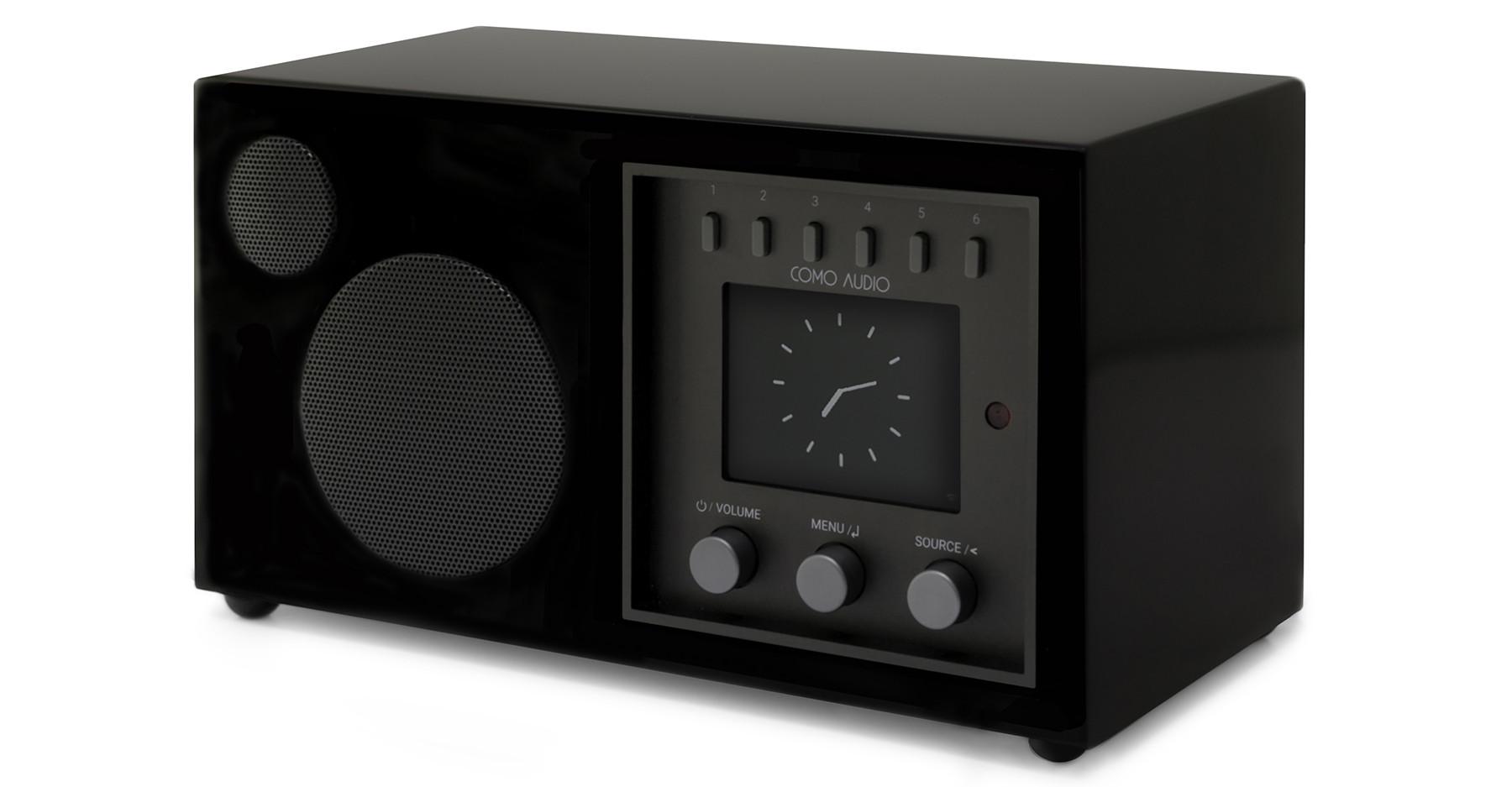Como Audio Solo DAB+ Radio Hochglanz schwarz
