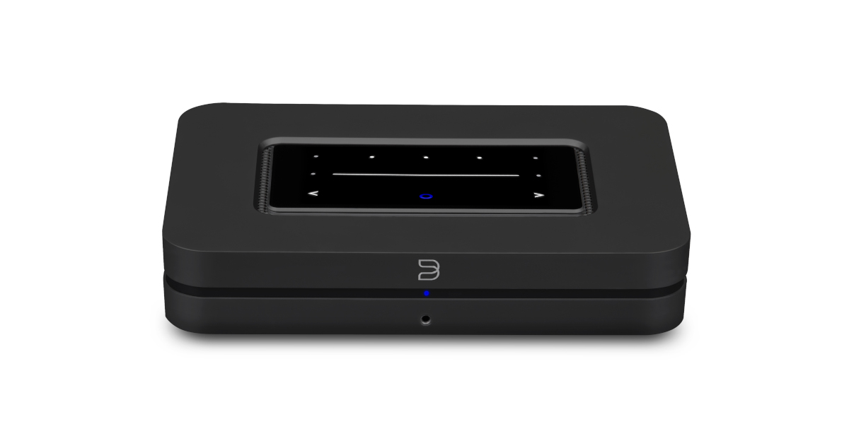 Bluesound Node (N130) Kabelloser Multi-Room Hi-Res Musik-Streamer