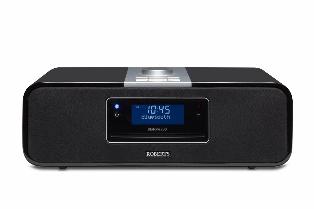 Roberts Blutune 200 UKW/DAB+ Stereo Soundsystem schwarz