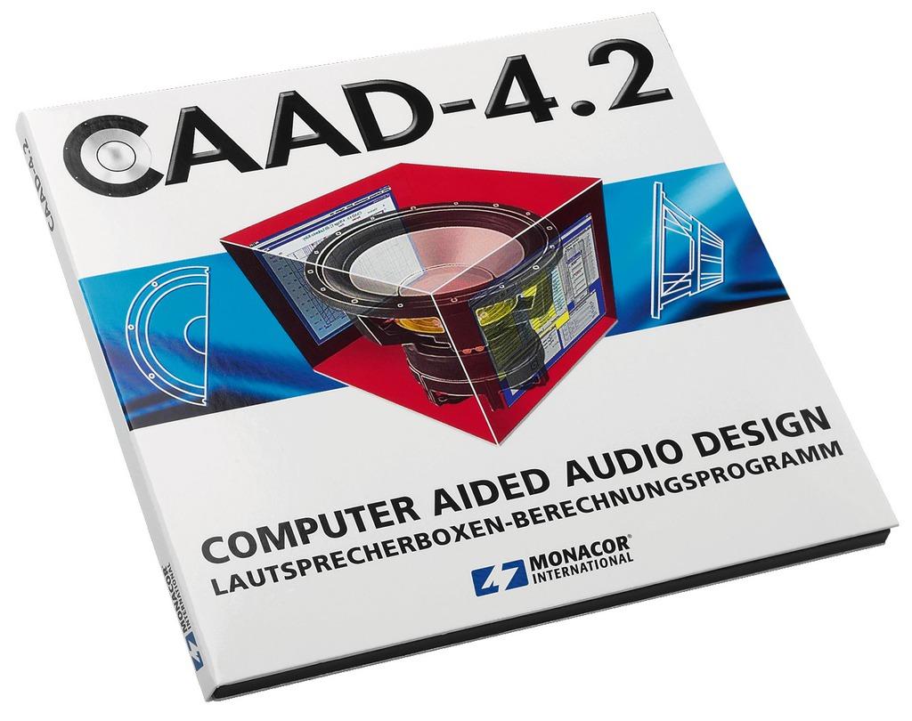 Monacor: Caad 4.2 WIN Lautsprecher-Simulation