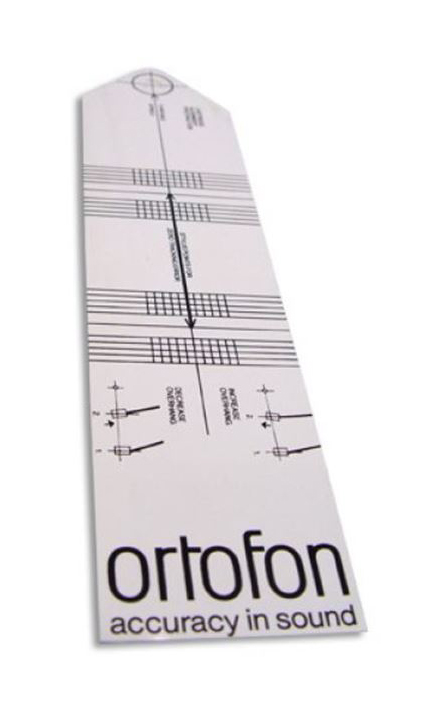 Ortofon Einstell-/Überhangschablone