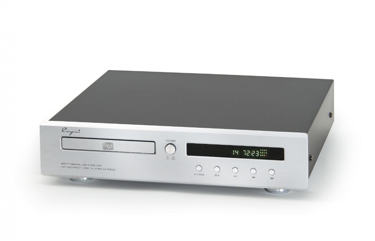 Cayin CS-55CD Cd-Player incl. USB DAC silber