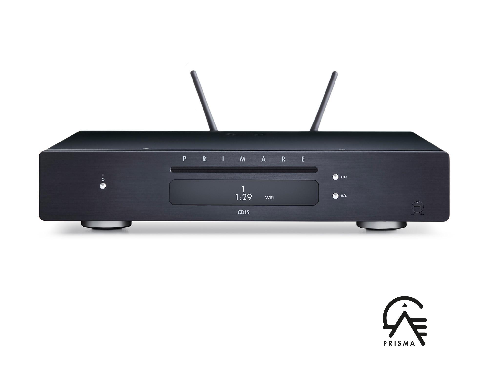 Primare CD15 Prisma CD-Player mit Streamer Titan