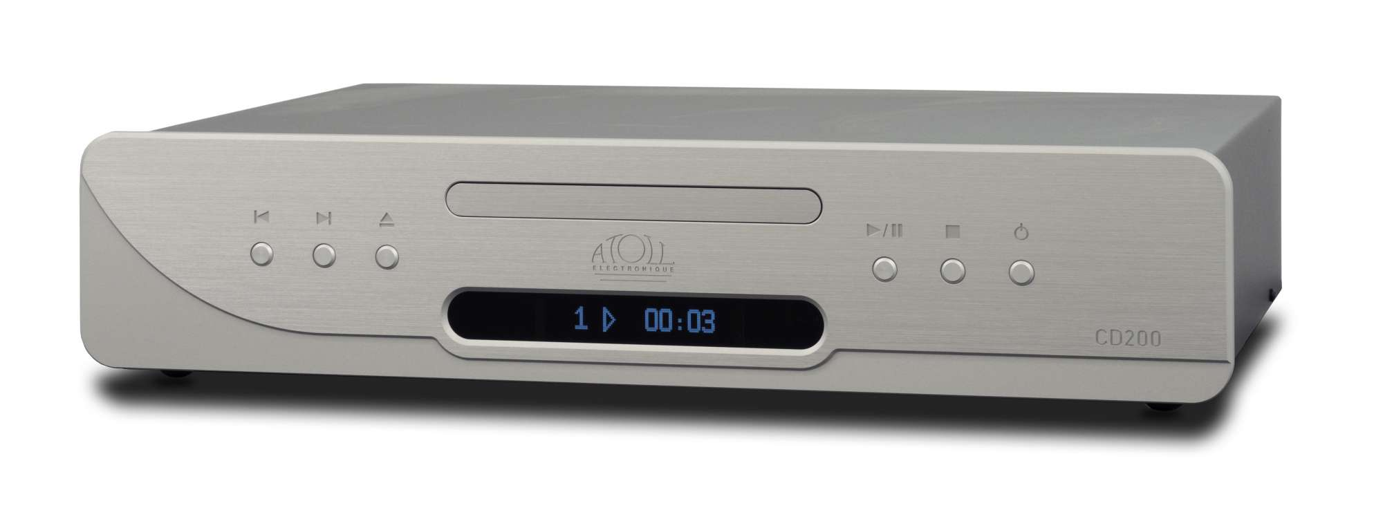 Atoll CD 200 Signature CD-Player silber