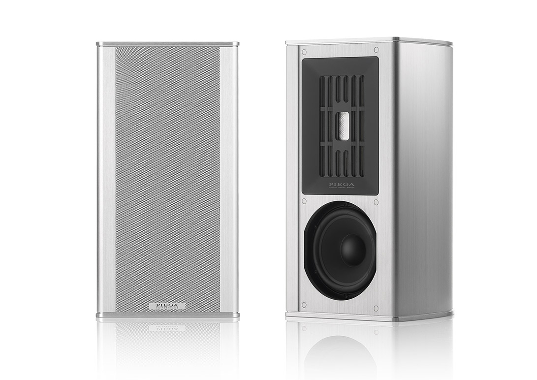 Piega Coax 311 bookshelf loudspeaker High End Alu/silver
