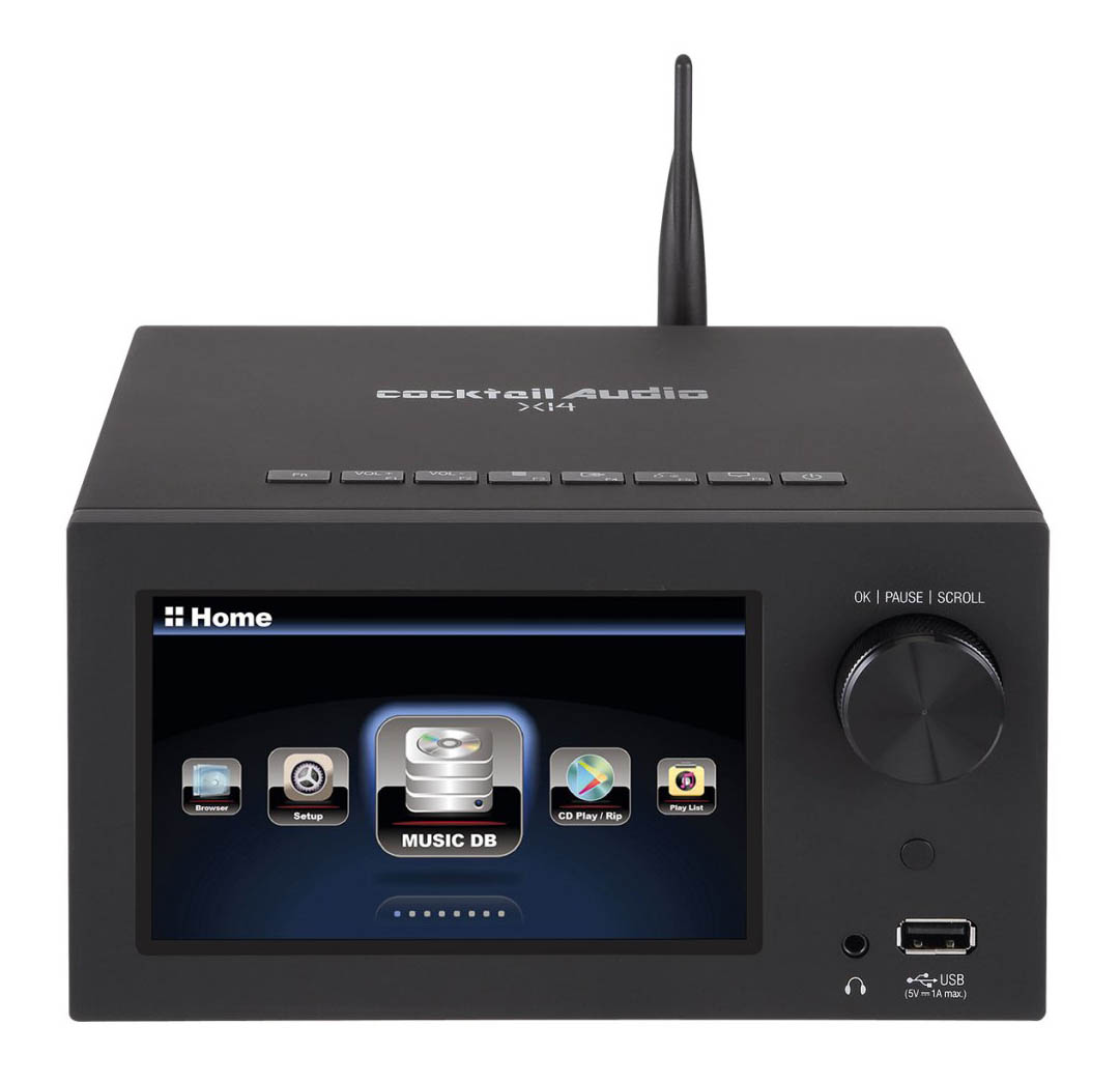 Cocktail Audio X14 Musicserver und Streamer, black