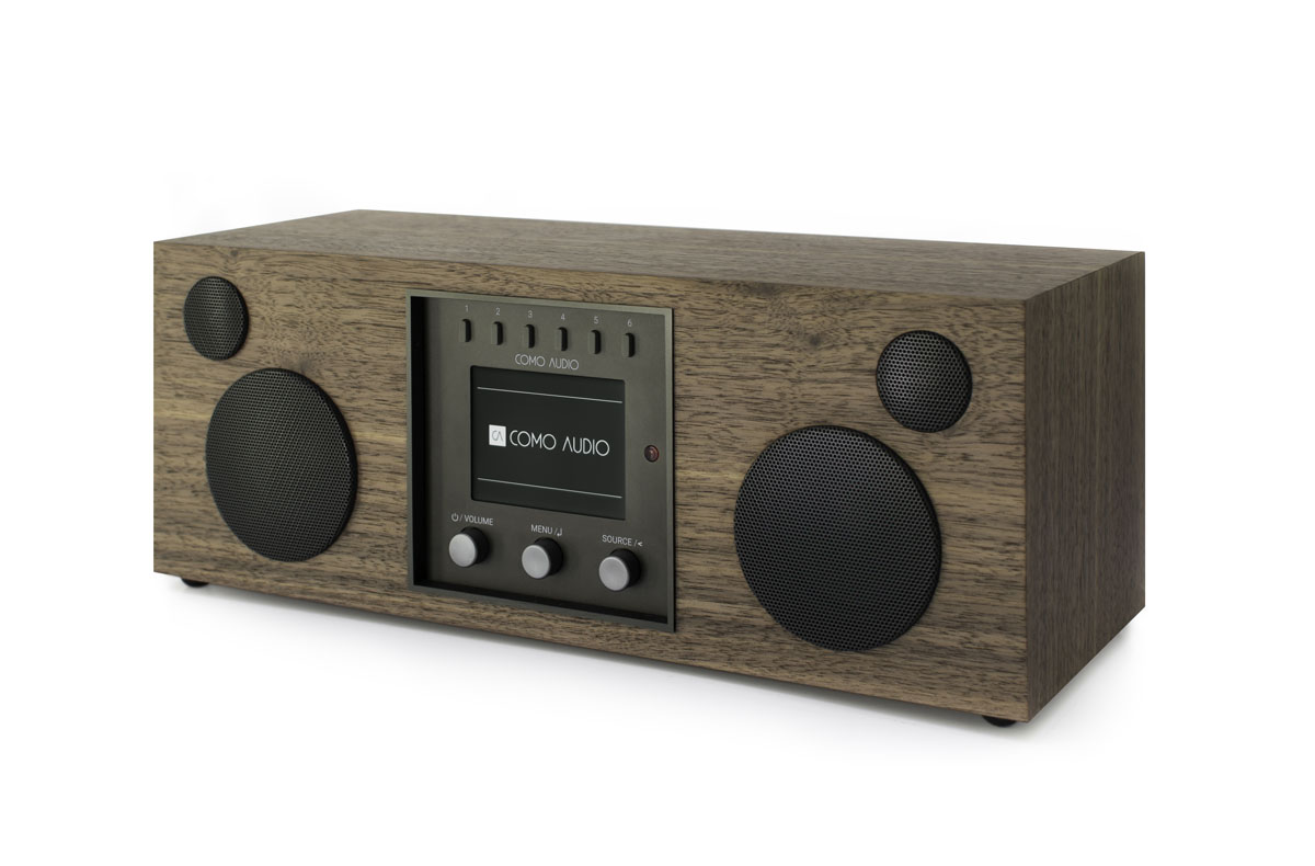 Como Audio Duetto DAB+ Radio mit Bluetooth, WiFi, Spotify und FB