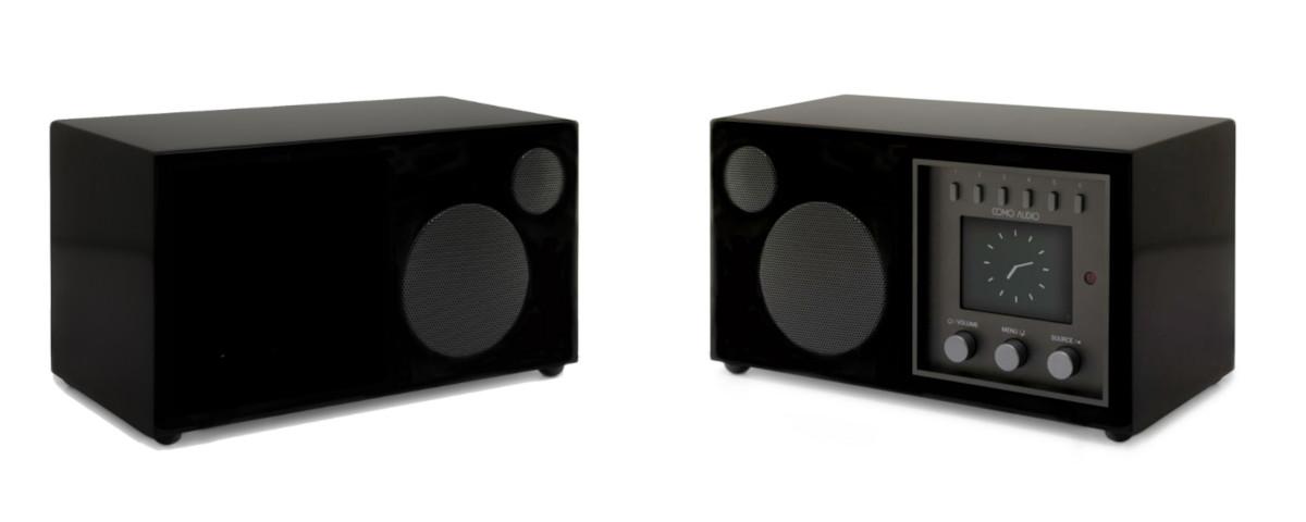 Como Audio Set: Solo DAB+ Radio und Como Audio Ambiente Box schwarz