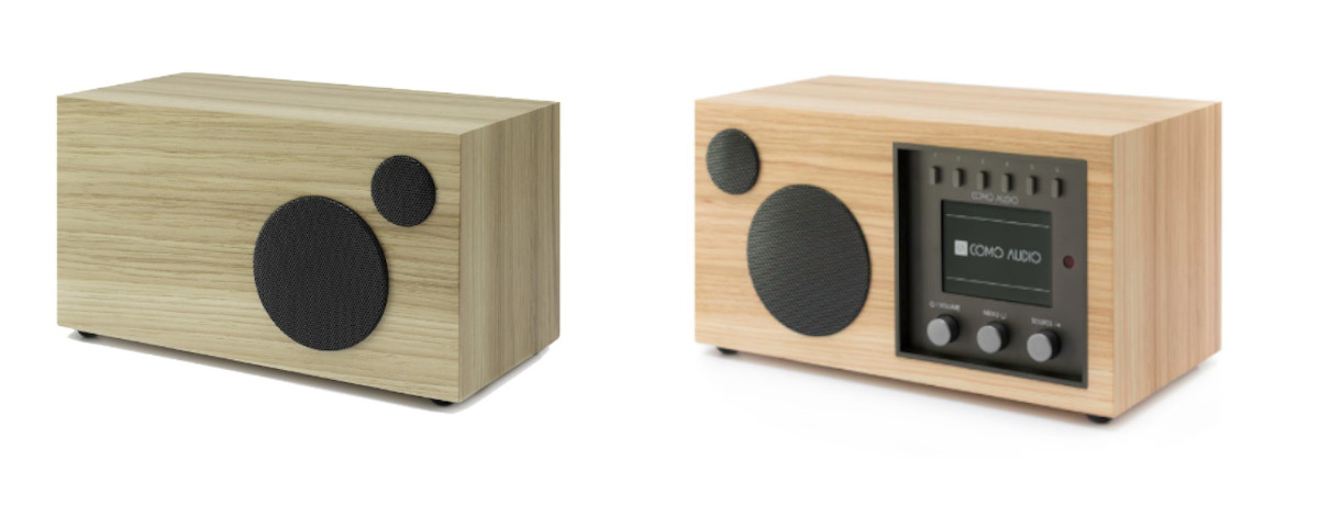 Como Audio Set: Solo DAB+ Radio und Como Audio Ambiente Box Hickory