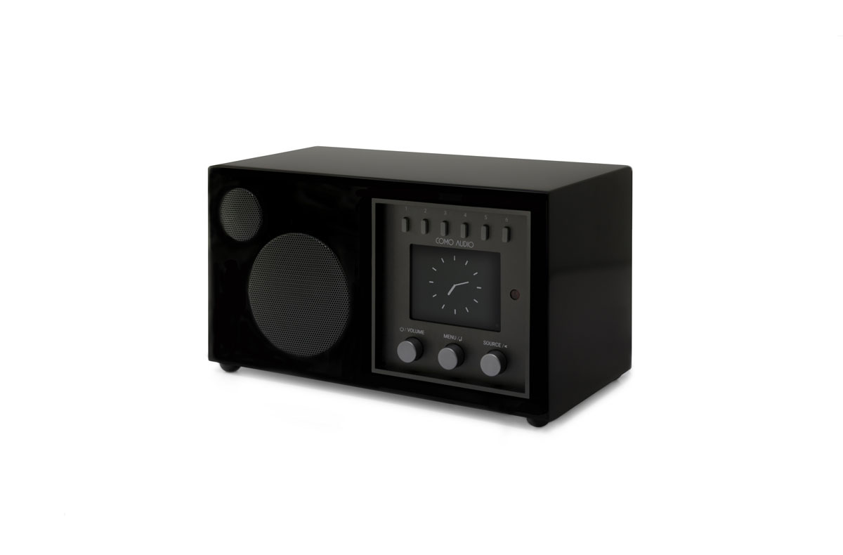 Como Audio Solo DAB+ Radio with Bluetooth, WiFi, Spotify and Remote, black (checked return)