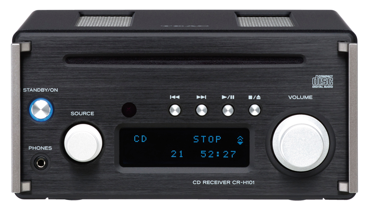 Teac CR-H101 Slot-in CD-Receiver with USB DAC