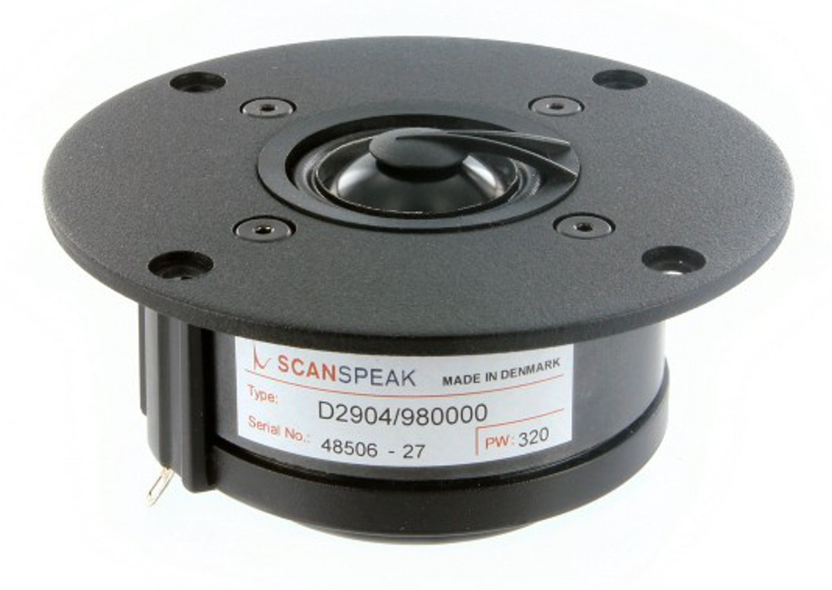 Scan Speak D 2904/980000 Aluminium Kalotte (Paar)