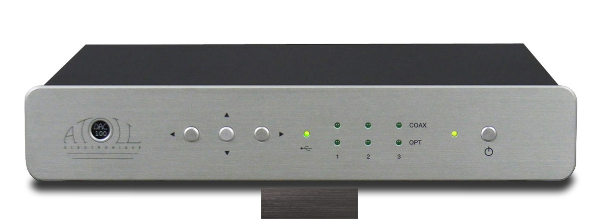 Atoll DAC 100 Signature Digital-Analog-Wandler schwarz