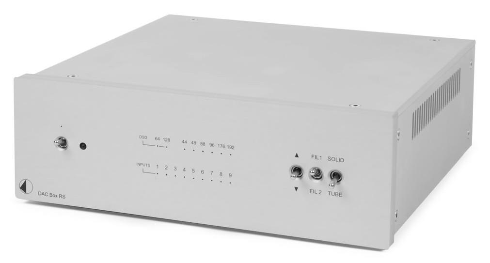 Pro-Ject DAC Box RS, High End Doppel-DA-Wandler für PC und MAC mit asynchroner USB-Übertragung